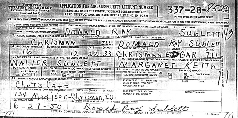 Illinois edgar county kansas -  1933 Edgar County Illinois Died June 15 1981 Edgar County Illinois Married Vera May Pratt On December 31 1952 In Marion County Indiana